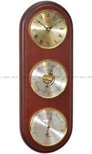 Barometr Termometr Zegar TFA Owal3DZegar-N-05-CH3