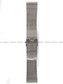 Bransoleta do zegarka Aviator Douglas DC - 22 mm - srebrna