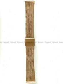 Bransoleta do zegarka Bisset - BBSR.63.18-RG - 18 mm