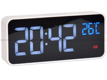 Budzik cyfrowy z termometrem JVD SB8005.3