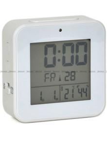 Budzik cyfrowy z termometrem, sterowany radiowo MPM C02.3534.00