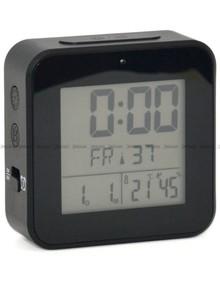 Budzik cyfrowy z termometrem, sterowany radiowo MPM C02.3534.90