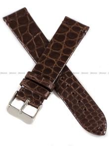 Pasek do zegarka ze skóry aligatora ręcznie robiony - Tekla PT73.20.2 - 20 mm