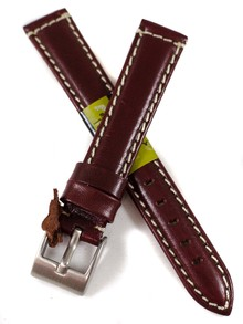 Pasek skórzany do zegarka - Diloy 363.16.4 - 16 mm