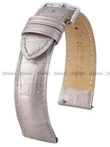 Pasek skórzany do zegarka - Hirsch Duke Metallic 01027130-2-20 - 20 mm - M