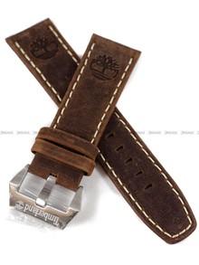 Pasek skórzany do zegarka Timberland TBL.14399XS/02 Pinkerton - 24 mm