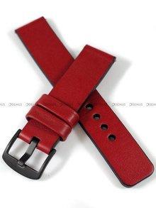 Pasek skórzany do zegarka lub smartwatcha - moVear WQU0C010000BKMM22RE - 22 mm