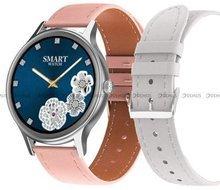Smartwatch Pacific 18-7-Silver-White - dodatkowy pasek w zestawie