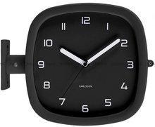 Zegar ścienny Karlsson Doubler KA5831BK
