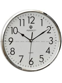 Zegar ścienny Perfect FX-5742 Srebrny - 26 cm