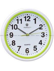 Zegar ścienny Perfect FX5841 Zielony - 28 cm