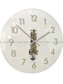 Zegar ścienny wiszący mechaniczny Hermle Ava 30906-000791 55 cm