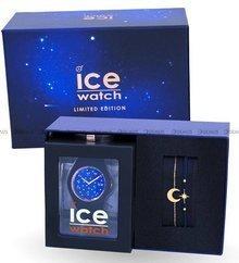 Zegarek Damski Ice-Watch - Ice Cosmos Star Deep Blue 018692 M - Z bransoletką w zestawie - Limitowana edycja