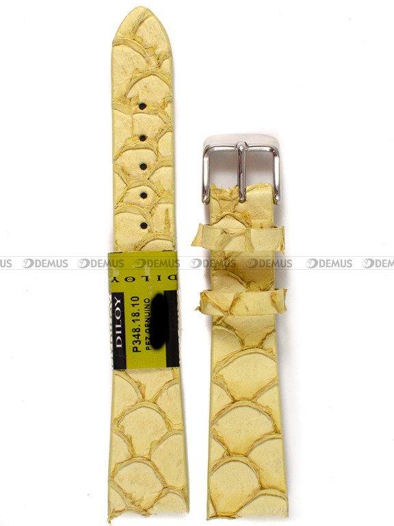 f0d4d758ba07ad Pasek skórzany do zegarka - Diloy P348.18.10 - 18 mm | Sklep Demus ...