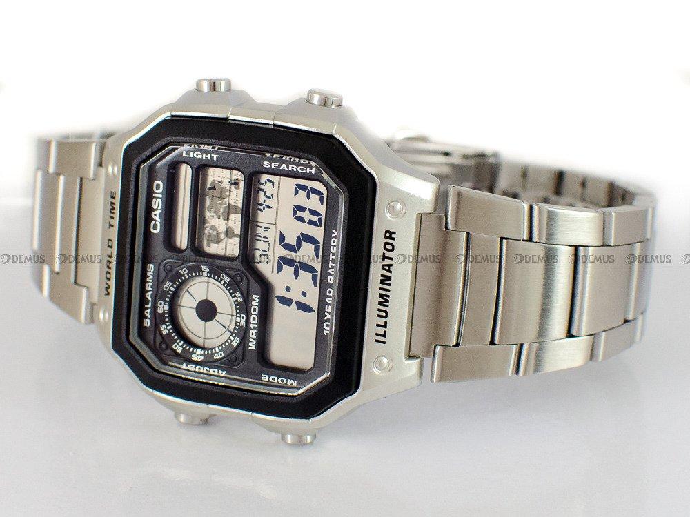 Zegarek Casio AE 1200WHD 1AVEF   Sklep Demus Zegarki.pl