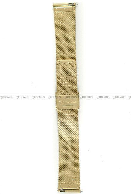Bransoleta do zegarka Bisset - BBSR.63.18-G-MAT - 18 mm