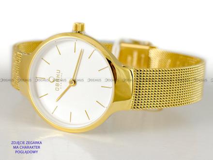 Bransoleta do zegarków Obaku V223L - V223LXGIMG - 12 mm