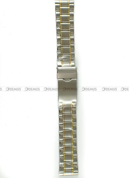 Bransoleta stalowa do zegarka - Bra22 - 20 mm