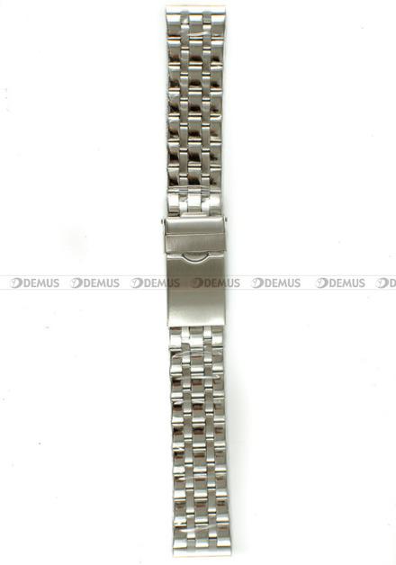 Bransoleta stalowa do zegarka - Bra25 - 20 mm