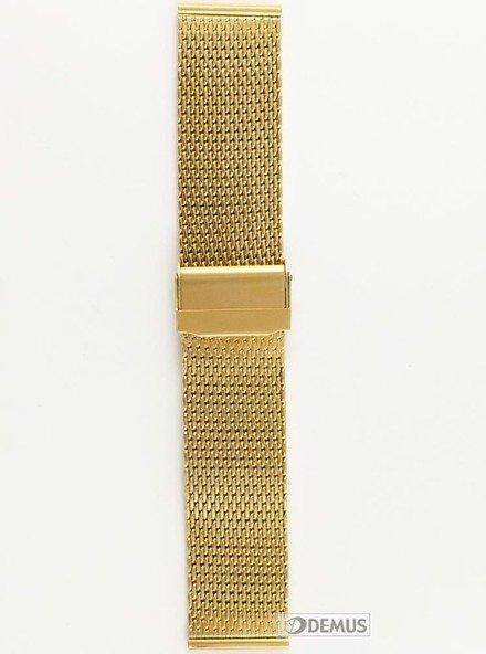Bransoleta stalowa do zegarka - Chermond BRG1-24 - 24 mm