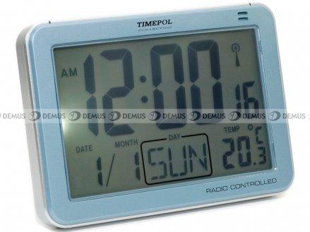 Budzik cyfrowy Timepol R852DCF-PL-N