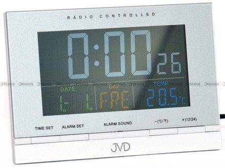 Budzik cyfrowy sterowany radiowo JVD RB9302.1
