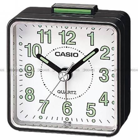 Budzik kwarcowy wskazówkowy Casio TQ 140 1BEF