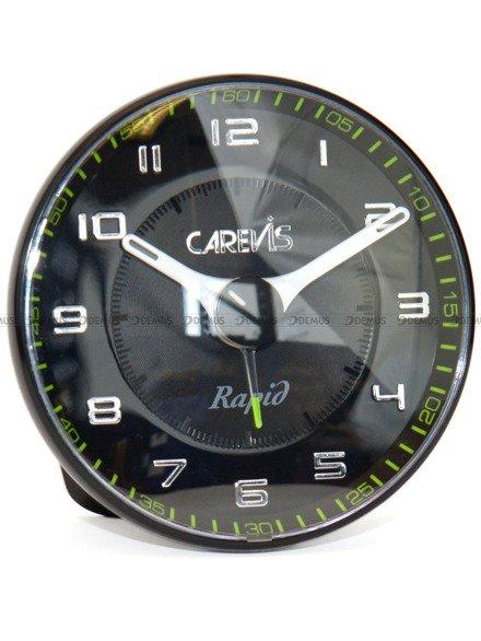 Budzik wskazówkowy Carevis C08-BKBK