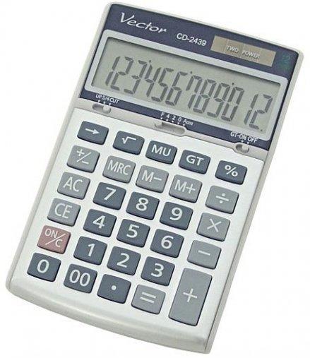 Kalkulator Vector CD-2439