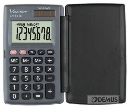 Kalkulator kieszonkowy Vector CH-862D
