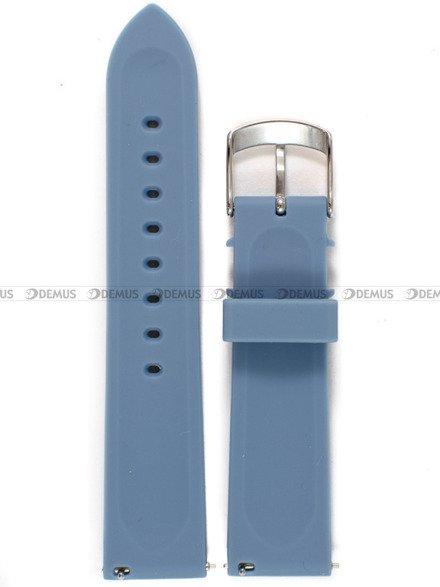 Pasek silikonowy do zegarka Vostok Europe Undine VK64-515A526 - 20 mm