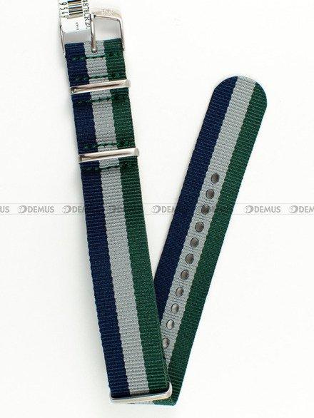 Pasek bawełniany do zegarka - Morellato A01U3972A74878 - 20 mm