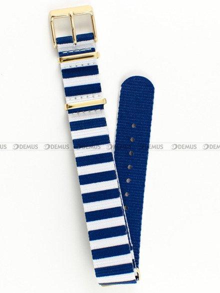 Pasek do zegarka Timex TW2P91900 - PW2P91900 - 18 mm