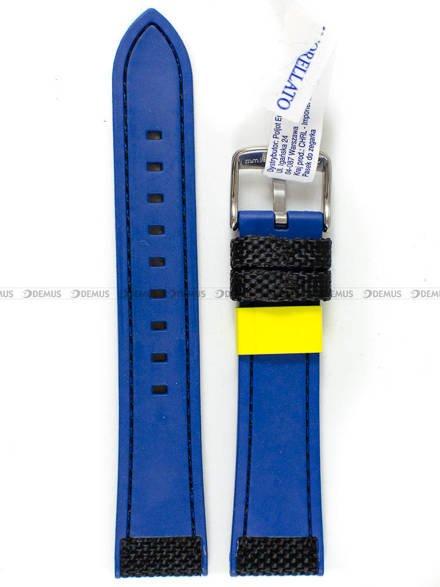 Pasek do zegarka gumowy - Morellato A01X5122C62919CR20 20 mm