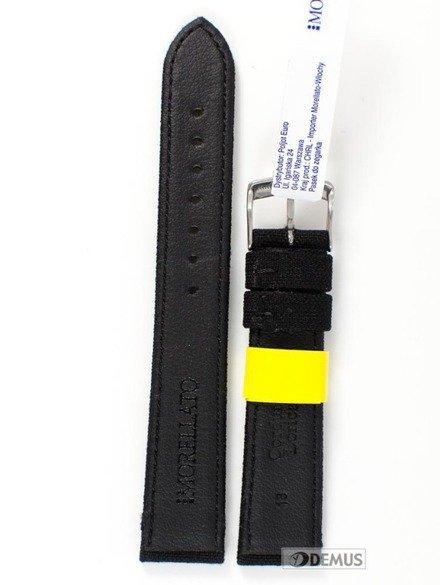 Pasek do zegarka skórzano-nylonowy - Morellato A01U2779110019 18 mm
