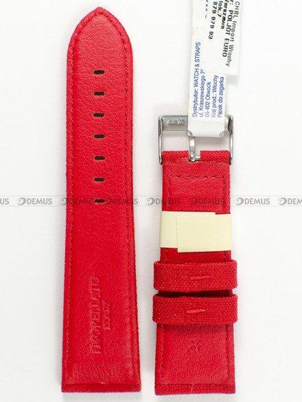 Pasek do zegarka skórzano-nylonowy - Morellato A01U2779110083 24 mm