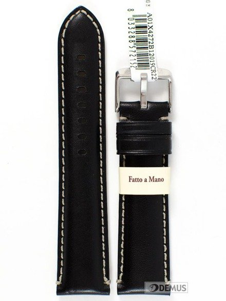 Pasek do zegarka skórzany - Morellato A01X4272B12019 22 mm