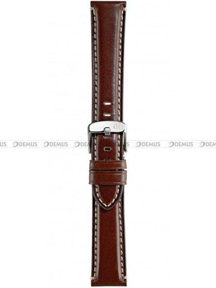 Pasek do zegarka skórzany - Morellato A01X4272B12034 24 mm