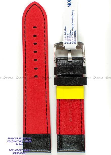 Pasek do zegarka wodoodporny skórzany - Morellato A01X5272C91183CR20 - 20 mm