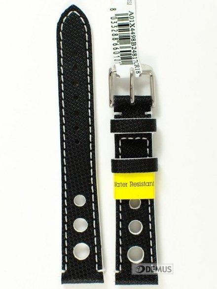 Pasek do zegarka wodoodporny z tworzywa - Morellato A01X4498B24817 18mm