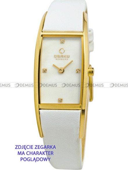 Pasek do zegarków Obaku V150L - V150LGIRW - 14 mm