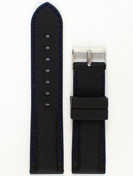 Pasek gumowy do zegarka JVD PG1.24MM.1.2