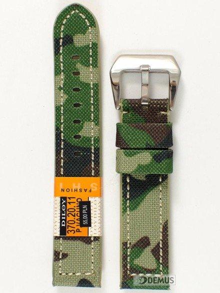 Pasek moro do zegarka - Diloy 370.20.11 - 20mm