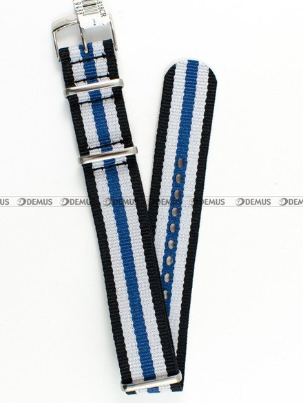 Pasek nylonowy do zegarka - Morellato A01U3972A74818 18 mm