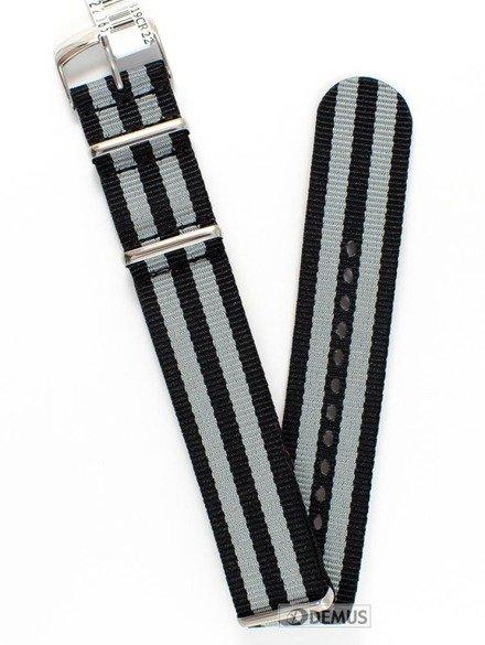 Pasek nylonowy do zegarka - Morellato A01U3972A74819 22 mm