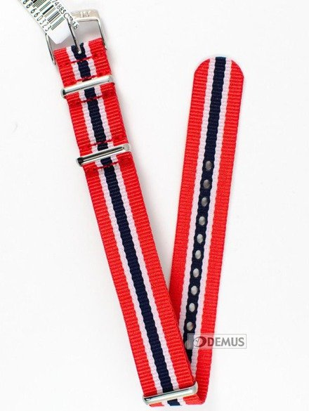 Pasek nylonowy do zegarka - Morellato A01U3972A74885 18 mm