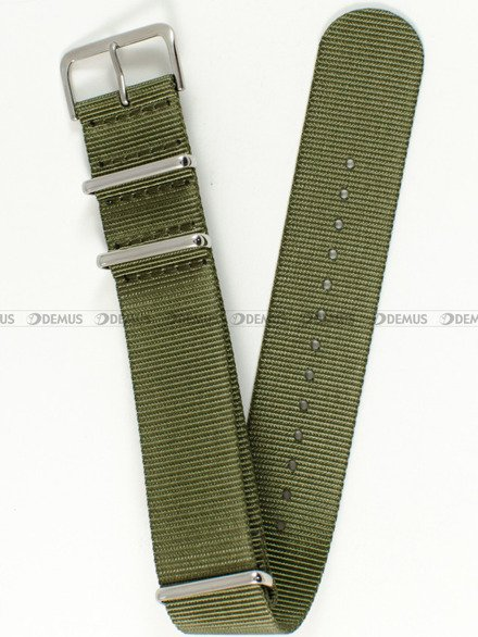 Pasek nylonowy do zegarka - Nato PNN1.24.3 - 24 mm