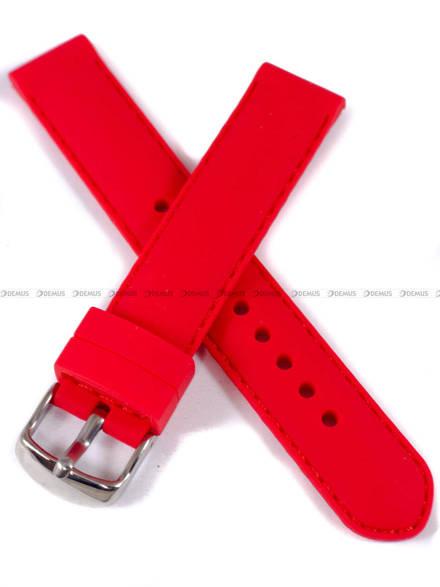 Pasek silikonowy do zegarka - Chermond PG1.18.4.4 - 18 mm