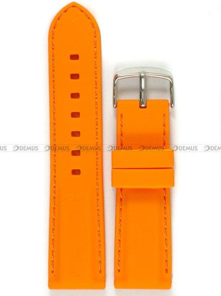 Pasek silikonowy do zegarka - Chermond PG1.24.5.5 - 24 mm