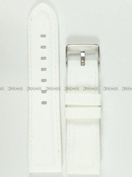 Pasek silikonowy do zegarka - Chermond PG1.24.7.7 - 24 mm